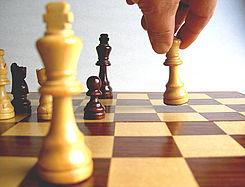 Piezas de ajedrez: alataque